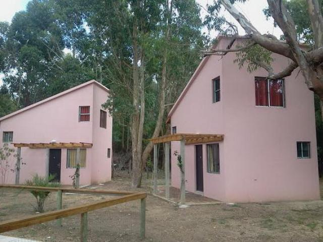Cabañas Gemelas 4 personas en La Esmeralda. Rocha.Uruguay
